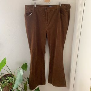 Old Navy High Rise Flare Corduroy Jeans